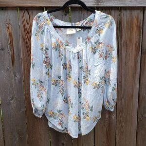 Floral lightweight Marve by Anthropologie Blouse